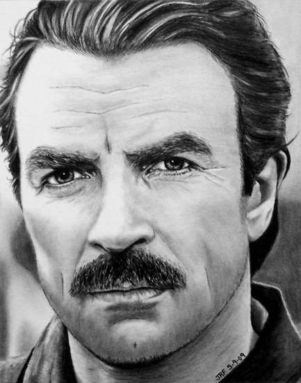 Tom Selleck by JRFortson
